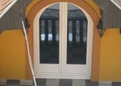 Pvc lučna balkonska vrata