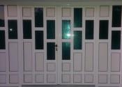 Standard al garažna vrata sa prečkama