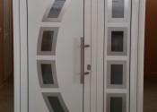 Standard al ulazna vrata sa inox panelom 2