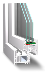 Pvc stolarija šestokomorni profil Veka