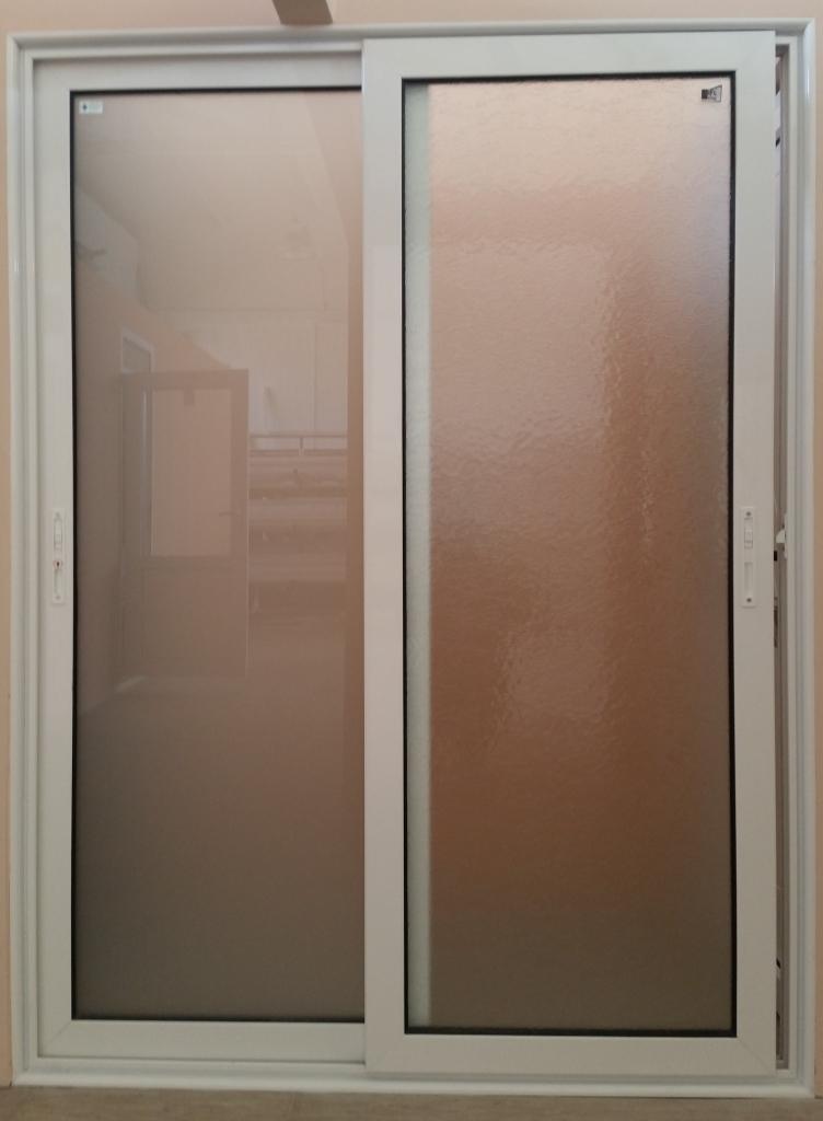 Alu dvokrilna klizna vrata