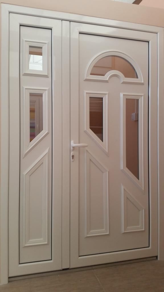 Alu ulazna vrata za kuću sa dovratkom dekorativni panel