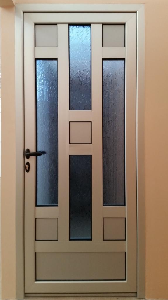 Alu ulazna vrata za kuću u prečkama